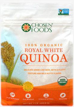 Chosen Foods - 100 Organic Royal White Quinoa - 1 lb.