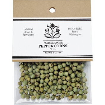 India Tree Peppercorns, Green, .3 oz (Pack of 4)