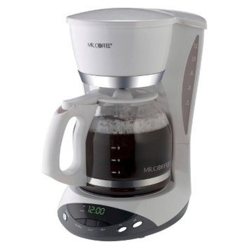 Mr. Coffee 12-Cup Programmable Coffeemaker- White