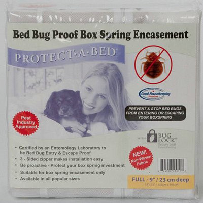 Protect-A-Bed Bed Bug Proof Full Box Spring Encasement Full