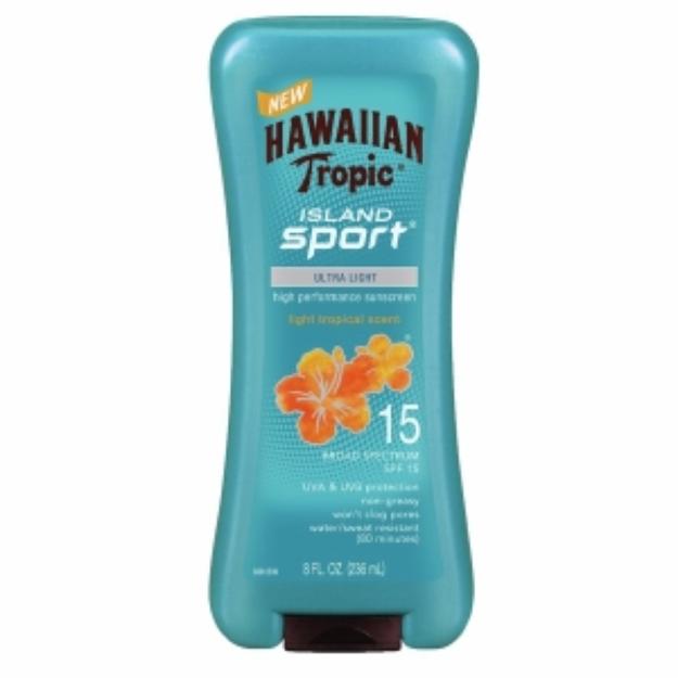 Hawaiian Tropic® Island Sport® SPF 15 Lotion Sunscreen