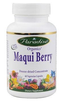 Paradise Herbs Organics Maqui Berry 60 Vegetarian Capsules