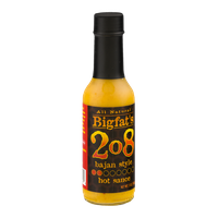 Bigfat's 208 Hot Sauce Bajan Style