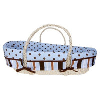 Trend Lab Max 4-piece Moses Basket Set