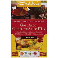 Sukhi's Gourmet Indian Foods Sukhi's Gobi Aloo Spice Mix, 0.4-Ounce Packets (Pack of 12)