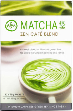 Aiya America Matcha Zen CafE Blend Sticks-12 per Box
