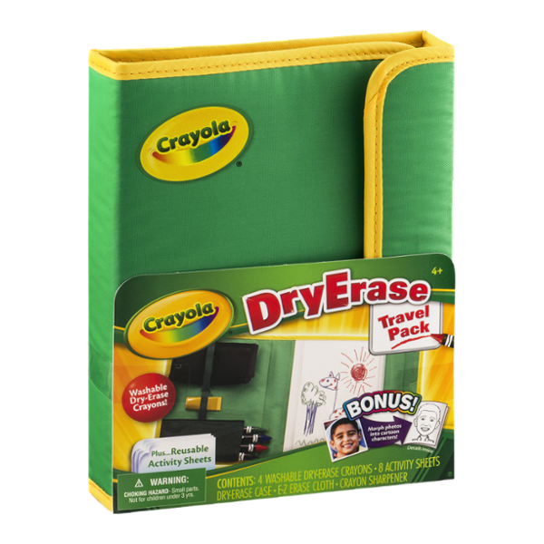 Crayola DryErase Travel Pack