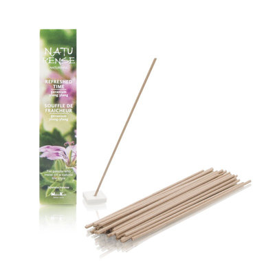 Nippon Kodo Naturense Refreshed Time 40 Insence Sticks with Holder