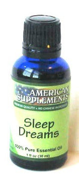 Sweet Dream Essential Oil No Chinese Ingredients American Supplements 1 oz Oil