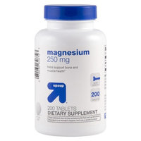 up & up up&up Magnesium 250 mg Tablets - 200 Count