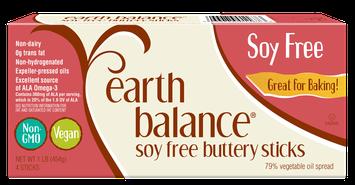 Earth Balance® Soy Free Buttery Sticks 1 lb. Box