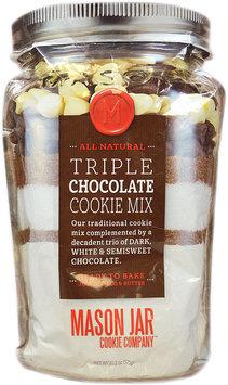 Mason Jar Cookie Company 20.2-oz. Pouch Triple Chocolate Cookie Mix
