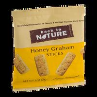 Back To Nature Mini Honey Graham Sticks