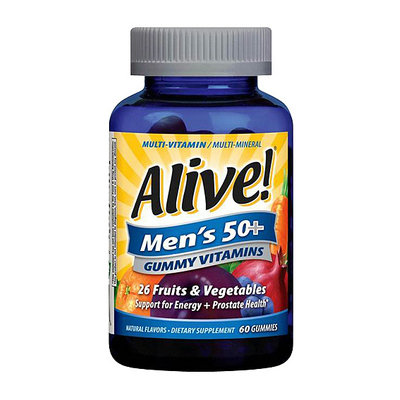 Alive! Men's 50+ Gummy Vitamins
