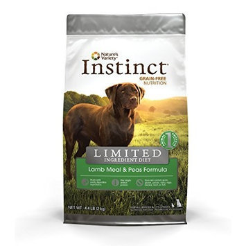 Instinct Grain Free Nature's Variety Instinct Limited Ingredient Diet (Lid) Lamb Meal and Peas Dry Dog Food (4.4 Lb.)