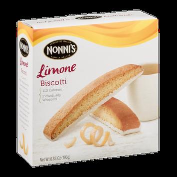 Nonni's Biscotti Limone