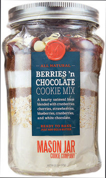 Mason Jar Cookie Company 20.2-oz. Pouch Berries 'n Chocolate Cookie Mix (White Chocolate/Berry)