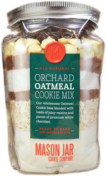 Mason Jar Cookie Company 20.2-oz. Pouch Orchard Oatmeal Cookie Mix (White Chocolate)