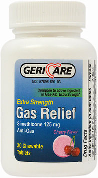 Gericare Extra Strength Gas Relief-30 Chewables