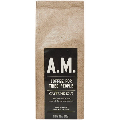 AM Caffeine Jolt Coffee-12 oz Bag