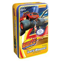 Blaze and the Monster Machines Let's Blaaze! Matching Game Tin