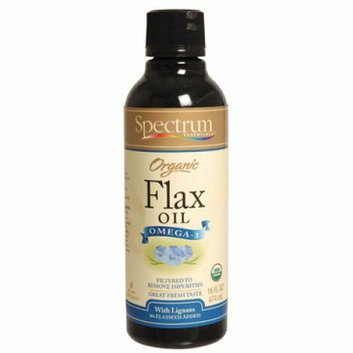 Spectrum Essentials Organic Flax Oil Ultra Enriched 16 fl oz