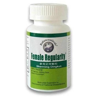 Health King Balanceuticals Female Regularity 60 Capsules