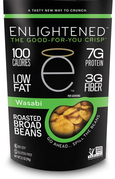 Enlightened Wasabi Crisps-12 Bags Each