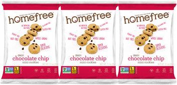 HomeFree Gluten Free Choc Chip Mini Cookies (64/1.1oz bags)