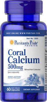 Puritan's Pride Coral Calcium 500 mg-60 Capsules