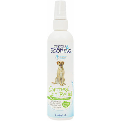 Naturel Promise Oatmeal Itch Relief Spray for Dogs-8 oz Liquid