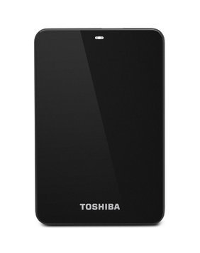 Toshiba Canvio Connect 2TB Portable External Hard Drive, Black