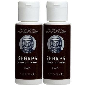 Sharps Barber & Shop Sharps Mission: Control Conditioning Shampoo - Mint + Eucalyptus - 1.7 oz