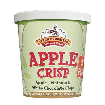 Straw Propeller Apple Crisp Oatmeal