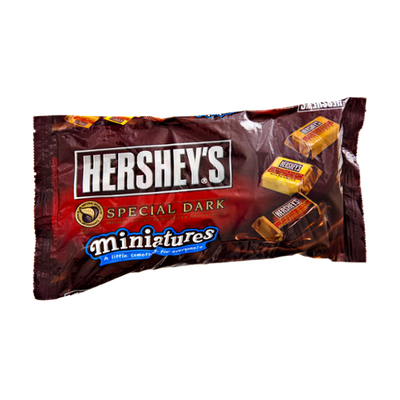 Hershey's Miniatures Special Dark Mildly Sweet Chocolate