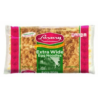 Luxury Extra WIDE Egg Noodles 12 oz pack of 12