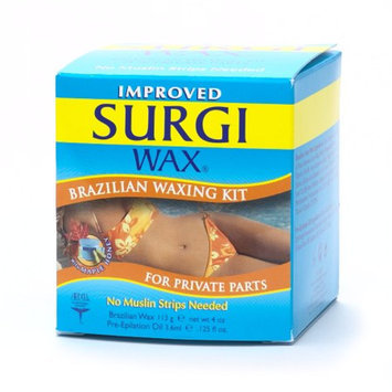SurgiCare Brazilian Waxing Kit for Private Parts