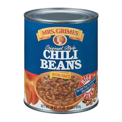 Mrs. Grimes Original Style Chili Beans In Chili Sauce