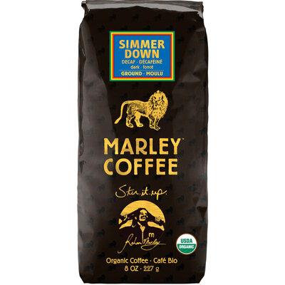 Marley Coffee 8-oz. Decaf Ground Coffee, Simmer Down