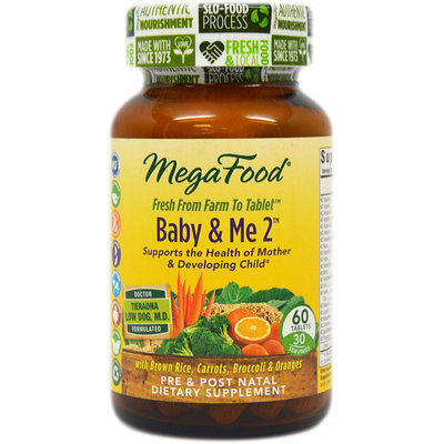 Baby & Me 2 MegaFood 60 Tabs