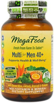 Multi for Men 40+ MegaFood 60 Tabs