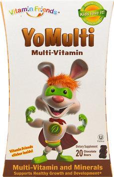 Vitamin Friends YoMulti Multi-Vitamin Chocolate 20 Gummy Bears