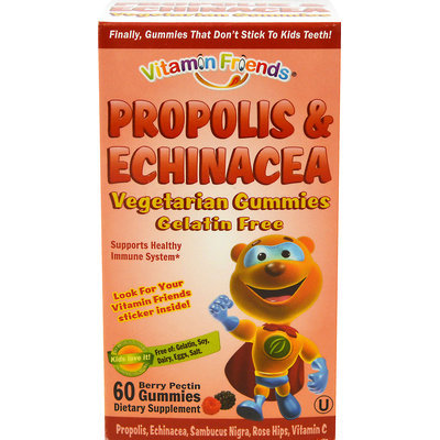 tural Burst Vitamin Friends PropoBear - Propolis & Echinacea Pectin Based Kosher Gummies