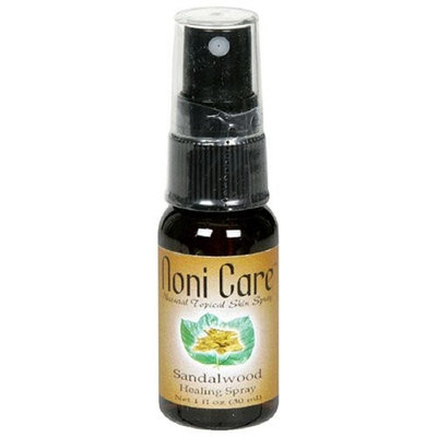 Bioponic Phytoceuticals Noni Care Natural Topical Skin Spray, Sandalwood, 1-Ounce Bottles (Pack of 3)