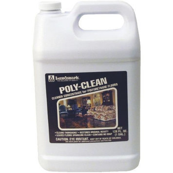 Poly Clean Wood Floor Cleaner 128 Ounce 3227G012 by Lundmark Wax