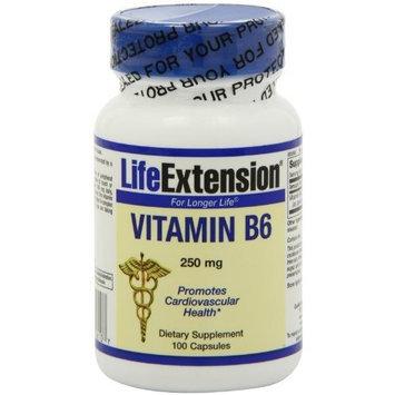 Life Extension Vitamin B6 250 MG 100 Veg Caps