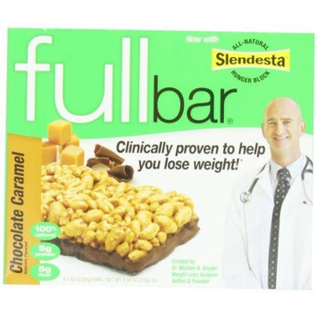 Fullbar Chocolate Caramel 1.59 oz. Bars, 6-Count