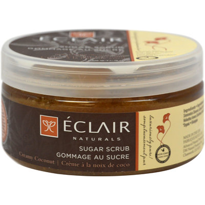 Eclair Naturals Creamy Coconut Sugar Scrub-9 oz Liquid