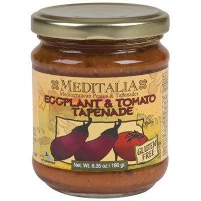 Meditalia Tapenade Eggplant Tomato 6.35-Ounce -Pack of 6