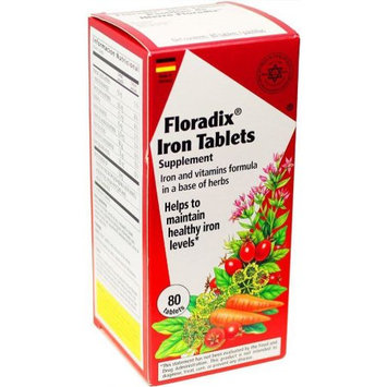 Salus Haus Salus-Haus - Floradix Iron Tablets - 80 count